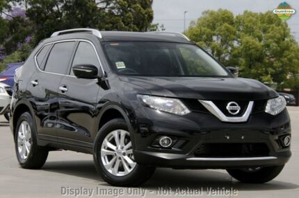 2015 Nissan X-Trail T32 ST-L (4x4) Diamond Black Continuous Variable Wagon Greenacre Bankstown Area Preview