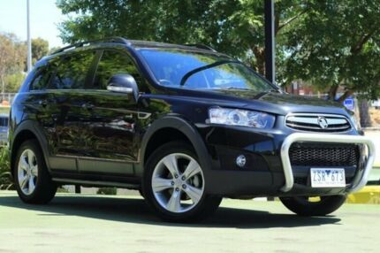 2013 Holden Captiva CG Series II MY12 7 AWD CX Black 6 Speed Sports Automatic Wagon