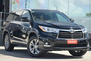 2015 Toyota Kluger GSU50R GXL (4x2) Eclipse Black 6 Speed Automatic Wagon Old Guildford Fairfield Area Preview