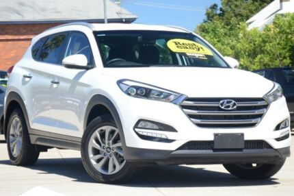 2015 Hyundai Tucson TLE Elite D-CT AWD White 7 Speed Sports Automatic Dual Clutch Wagon South Toowoomba Toowoomba City Preview