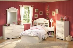 Girl's 'Summer Breeze' bedroom set by South Shore Furniture