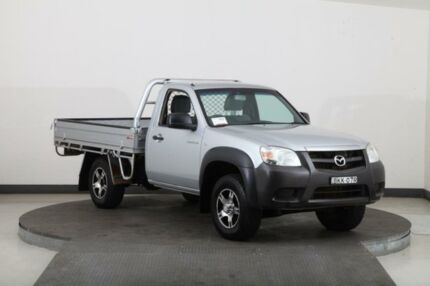 2009 Mazda BT-50 08 Upgrade B3000 DX (4x4) Silver 5 Speed Manual Cab Chassis Smithfield Parramatta Area Preview