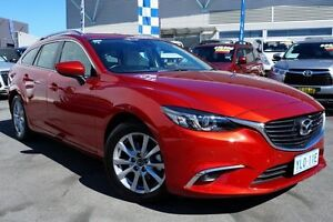 2016 Mazda 6 GL1031 Touring SKYACTIV-Drive Red 6 Speed Sports Automatic Wagon Pearce Woden Valley Preview