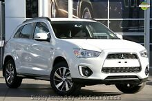 2015 Mitsubishi ASX XB MY15 LS 2WD White 6 Speed Constant Variable Wagon Cannington Canning Area Preview