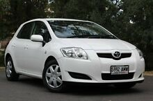 2007 Toyota Corolla  White Automatic Hatchback Hawthorn Mitcham Area Preview