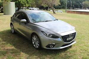 2014 Mazda 3 BM5438 SP25 SKYACTIV-Drive GT 6 Speed Sports Automatic Hatchback Hamilton East Newcastle Area Preview