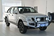 2014 Nissan Navara D40 MY12 ST (4x4) Silver 6 Speed Manual Dual Cab Pick-up Morley Bayswater Area Preview
