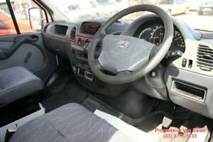 2001 Mercedes-Benz Sprinter FRIDGE VAN JUMBO White 5 Speed Manual Van
