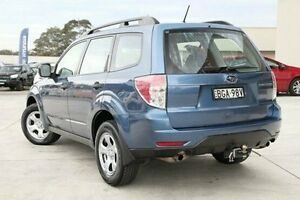2008 Subaru Forester S3 MY09 X AWD Blue 4 Speed Sports Automatic Wagon Pennant Hills Hornsby Area Preview
