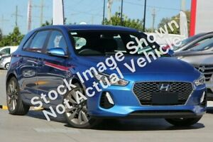2017 Hyundai i30 PD MY18 SR D-CT Blue 7 Speed Sports Automatic Dual Clutch Hatchback Gympie Gympie Area Preview