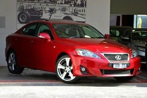 2011 Lexus IS250 GSE20R MY11 X 6 Speed Sports Automatic Sedan Doncaster Manningham Area Preview