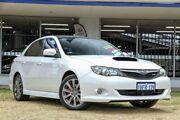 2010 Subaru Impreza G3 MY10 WRX AWD White 5 Speed Manual Sedan Victoria Park Victoria Park Area Preview