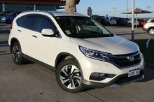 2015 Honda CR-V RM Series II MY16 VTi-L 4WD White 5 Speed Sports Automatic Wagon Pearsall Wanneroo Area Preview