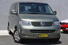 2008 Volkswagen Multivan T5 Comfortline Green 6 Speed Sports Automatic Wagon Pearce Woden Valley Preview