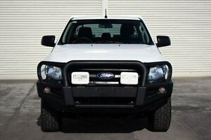 2012 Ford Ranger PX XL Double Cab White 6 Speed Sports Automatic Cab Chassis Seaford Frankston Area Preview