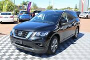2018 Nissan Pathfinder R52 Series II MY17 ST X-tronic 4WD Black 1 Speed Constant Variable Wagon Alfred Cove Melville Area Preview