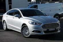 2016 Ford Mondeo MD Trend PwrShift Silver 6 Speed Sports Automatic Dual Clutch Hatchback Brookvale Manly Area Preview