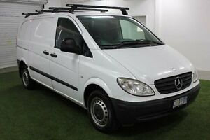 2009 Mercedes-Benz Vito 639 MY09 111CDI Low Roof Comp White 6 Speed Manual Van Moonah Glenorchy Area Preview