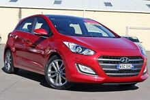 2015 Hyundai i30 GD3 Series II MY16 Premium DCT Red 7 Speed Sports Automatic Dual Clutch Hatchback McGraths Hill Hawkesbury Area Preview