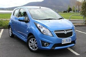 2014 Holden Barina Spark MJ MY15 CD Blue 4 Speed Automatic Hatchback Invermay Launceston Area Preview