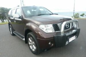 2009 Nissan Pathfinder R51 MY08 Titanium Brown 6 Speed Manual Wagon South Gladstone Gladstone City Preview