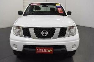 2011 Nissan Navara D40 MY11 RX (4x4) White 6 Speed Manual