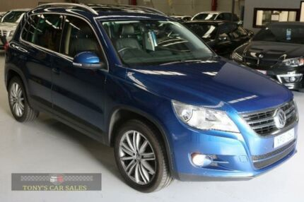2010 Volkswagen Tiguan 5N 125TSI Blue Sports Automatic Wagon Laverton North Wyndham Area Preview