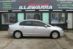2008 Honda Civic 8th Gen MY08 VTi Silver 5 Speed Automatic Sedan Barrack Heights Shellharbour Area Preview