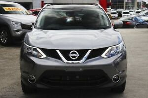 2017 Nissan Qashqai J11 TL Gun Metallic 1 Speed Constant Variable Wagon