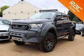 2016 66 FORD RANGER M SPORT 3.2 LIMITED 4X4 DCB TDCI 1D 197 BHP DIESEL