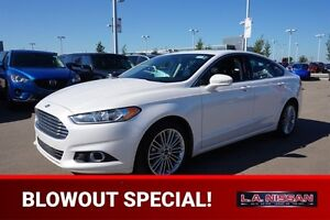 2016 Ford Fusion SE ALL WHEEL DRIVE Leather,  Heated Seats,  Sun