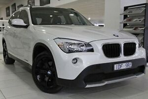 2012 BMW X1 E84 MY0312 sDrive20d Steptronic White 6 Speed Sports Automatic Wagon North Melbourne Melbourne City Preview