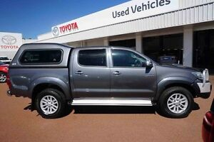 2012 Toyota Hilux KUN26R MY12 SR5 Double Cab Graphite 4 Speed Automatic Utility Balcatta Stirling Area Preview