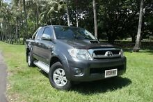 2009 Toyota Hilux KUN26R MY09 SR5 Xtra Cab Charcoal Grey 5 Speed Manual Utility The Gardens Darwin City Preview