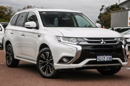 2017 Mitsubishi Outlander ZK MY17 Exceed Phev (hybrid) 1 Speed Automatic Wagon