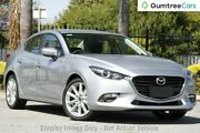 2017 Mazda 3 BN5238 SP25 SKYACTIV-Drive Sonic Silver 6 Speed Sports Automatic Sedan West Hindmarsh Charles Sturt Area Preview