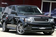 2010 Land Rover Range Rover MY10 Sport 5.0 V8 Black 6 Speed Automatic Wagon Petersham Marrickville Area Preview
