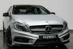2013 Mercedes-Benz A45 W176 AMG SPEEDSHIFT DCT 4MATIC Silver 7 Speed Sports Automatic Dual Clutch Rozelle Leichhardt Area Preview