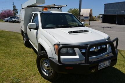 2009 Holden Colorado RC MY09 LX (4x4) White 5 SP MANUAL Cab Chassis