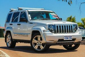 2012 Jeep Cherokee KK MY12 Limited Silver 4 Speed Automatic Wagon East Rockingham Rockingham Area Preview