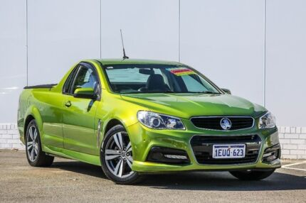 2015 Holden Ute VF II MY16 SV6 Ute Green 6 Speed Sports Automatic Utility Maddington Gosnells Area Preview