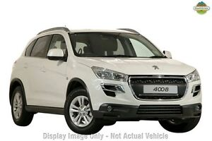 2014 Peugeot 4008 MY15 Active 2WD Silver 6 Speed Constant Variable Wagon Osborne Park Stirling Area Preview