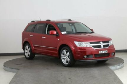 2008 Dodge Journey JC R/T CRD Red 6 Speed Automatic Wagon Smithfield Parramatta Area Preview