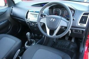 2013 Hyundai i20 PB MY13 Active Red 6 Speed Manual Hatchback Berwick Casey Area Preview