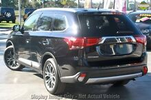 2016 Mitsubishi Outlander ZK MY16 XLS (4x4) Black 6 Speed Automatic Wagon Wilson Canning Area Preview