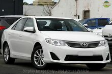 2014 Toyota Camry ASV50R Altise White 6 Speed Sports Automatic Sedan Cannington Canning Area Preview