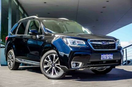 2017 Subaru Forester S4 MY17 XT CVT AWD Black 8 Speed Constant Variable Wagon Wangara Wanneroo Area Preview