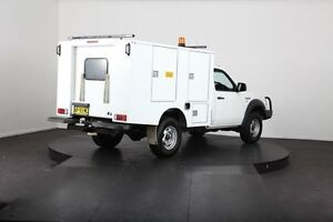 2007 Ford Ranger PJ XL (4x4) White 5 Speed Manual Cab Chassis McGraths Hill Hawkesbury Area Preview
