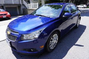 FUEL EFFICIENT - 2013 Chevrolet Cruze LT TURBO ECO (Manual)