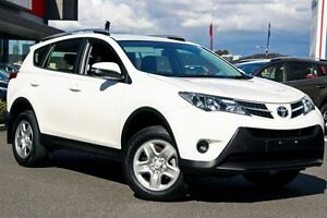 2015 Toyota RAV4 ASA44R MY14 GX AWD White 6 Speed Sports Automatic Wagon Mill Park Whittlesea Area Preview